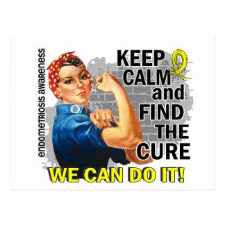 Carte Postale Rosie gardent Endometriosis.png calme