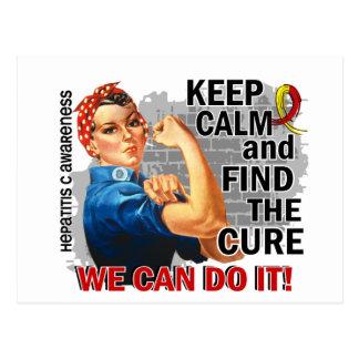 Carte Postale Rosie gardent Hepatitis.png calme