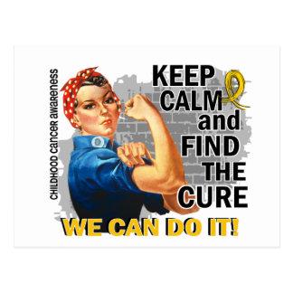 Carte Postale Rosie gardent l'enfance calme Cancer.png
