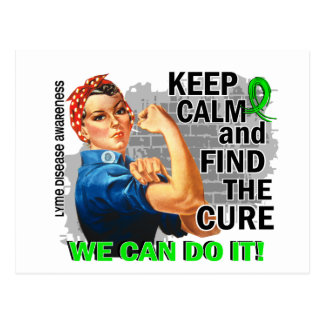 Carte Postale Rosie gardent Lyme calme Disease.png