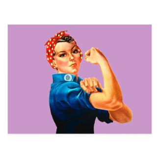 Carte Postale Rosie l'affiche de 2ÈME GUERRE MONDIALE de rivoir