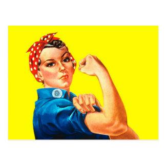 Carte Postale Rosie le rivoir - nous pouvons le faire, icône