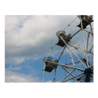 """Carte Postale """"roue de ferris"""" par des productions de Coressel"""