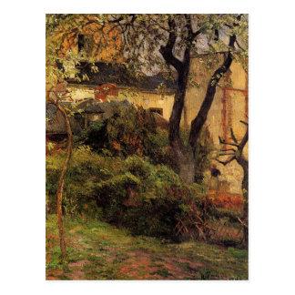 Carte Postale Rouen au ressort par Paul Gauguin