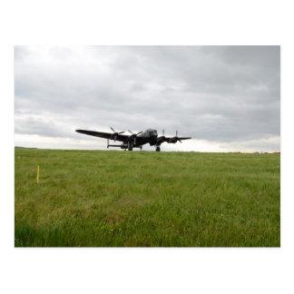 Carte Postale Roulement sur le sol d'Avro Lancaster