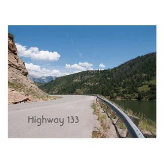Carte Postale Route 133