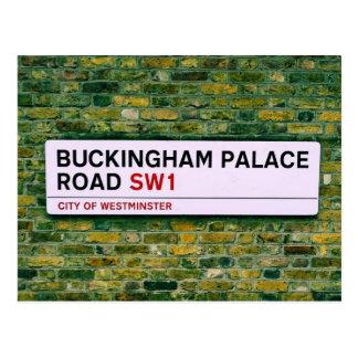 Carte Postale Route de Buckingham Palace - Londres
