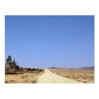 Carte Postale Route de désert