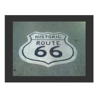 Carte Postale Route de mère de l'itinéraire 66