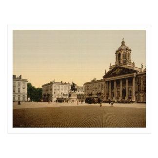 Carte Postale Royal Palace, Bruxelles, Belgique