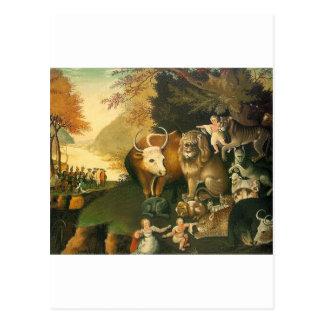 Carte Postale Royaume de Peacable par des ploucs d'Edouard