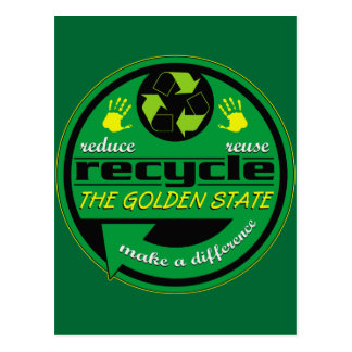 Carte Postale RRR le Golden State