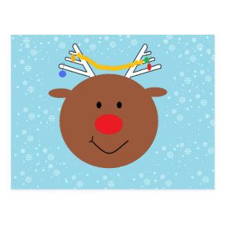 Carte Postale Rudy le renne