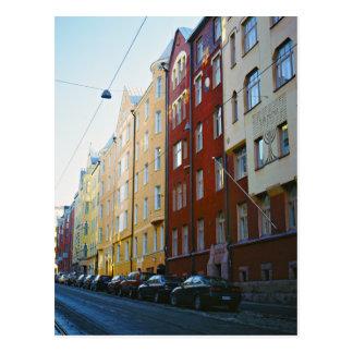 Carte Postale Rue de Helsinki