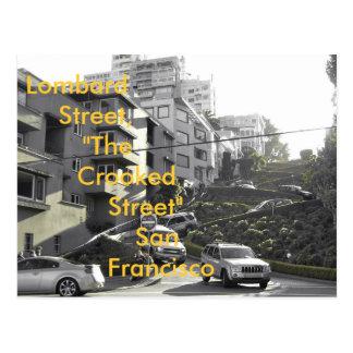 Carte Postale Rue de Lombard