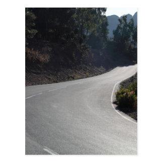 Carte Postale Rue de montagne
