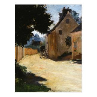Carte Postale Rue de village, Louveciennes Pierre-Auguste Renoir