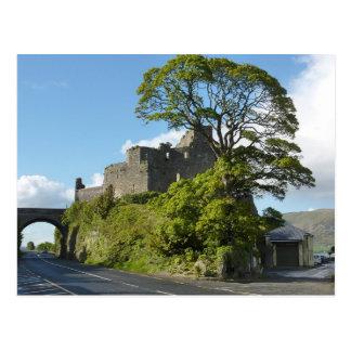 Carte Postale Ruines de château de Carlingford