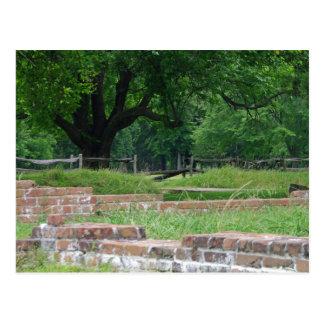 Carte Postale Ruines de Jamestown