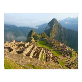 Carte Postale Ruines de Machu Picchu