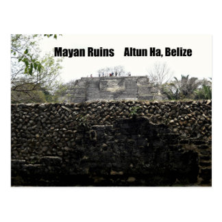 Carte Postale Ruines maya, Altun ha, Belize