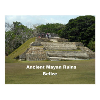 Carte Postale Ruines maya antiques, Belize
