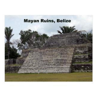 Carte Postale Ruines maya, Belize