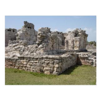 Carte Postale Ruines maya, Tulum, Mexique