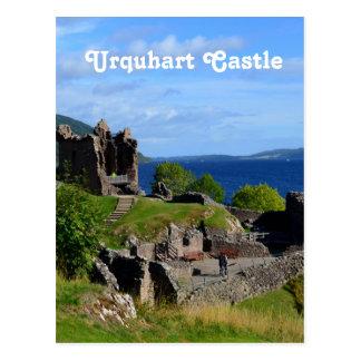 Carte Postale Ruines pittoresques de château d'Urquhart