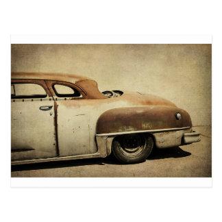 Carte Postale Rusty Chrysler De Soto