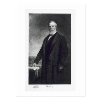 Carte Postale Rutherford Birchard Hayes, 19ème président du uni