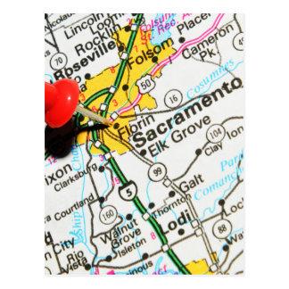 Carte Postale Sacramento, la Californie