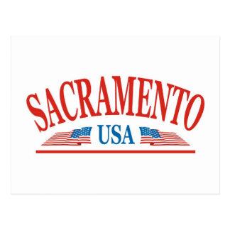 Carte Postale Sacramento la Californie Etats-Unis