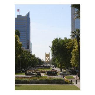 Carte Postale Sacramento : Pont de tour de mail de capitol