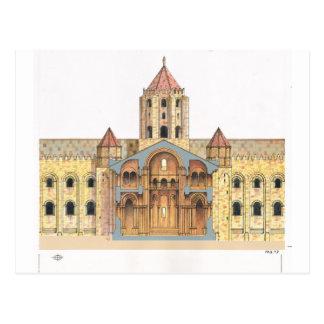 Carte Postale Saint-Jacques-de-Compostelle roman