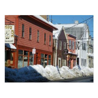 Carte Postale Salem en hiver