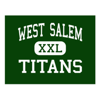 Carte Postale Salem occidental - titans - lycée - Salem Orégon