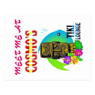 Carte Postale Salon de Tiki de Cosmo