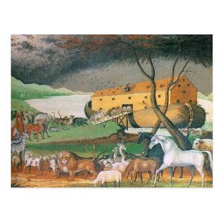 Carte Postale salutation d'arche de noahs
