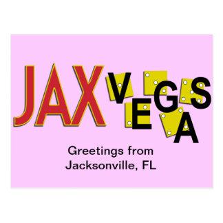 Carte Postale Salutations de JaxVegas