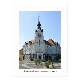 Carte Postale Salutations de Kaposvar, Hongrie