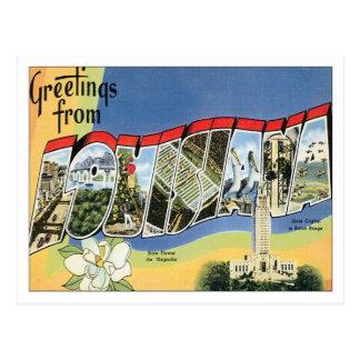 Carte Postale Salutations de Louisiane
