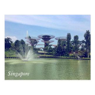 Carte Postale Salutations de Singapour