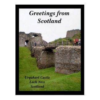Carte Postale Salutations d'Ecosse