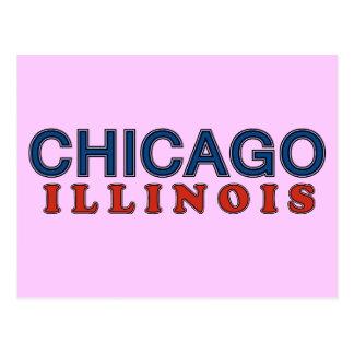 Carte Postale Salutations des amis de Chicago mis !