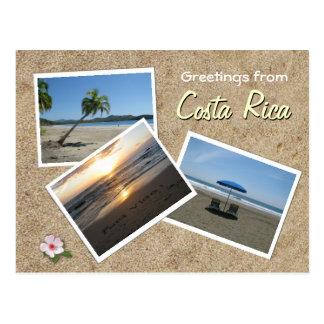 Carte Postale Salutations du Costa Rica