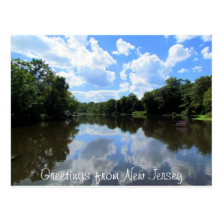Carte Postale Salutations du New Jersey 2