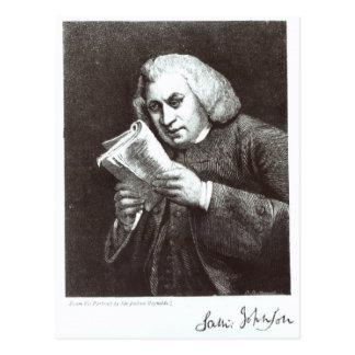 Carte Postale Samuel Johnson