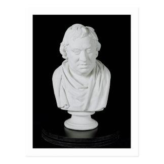 Carte Postale Samuel Johnson (1709-84) 1777 (plâtre)