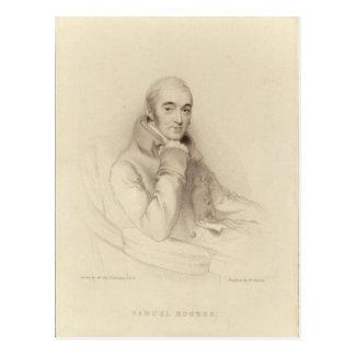 Carte Postale Samuel Rogers, gravé par William Finden